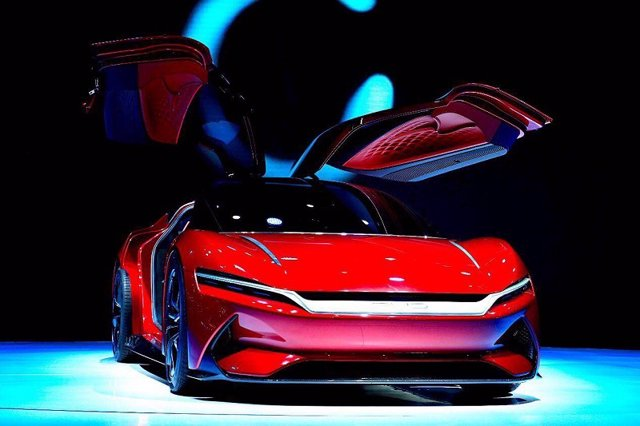 BYD E-SEED GT 'concept car'