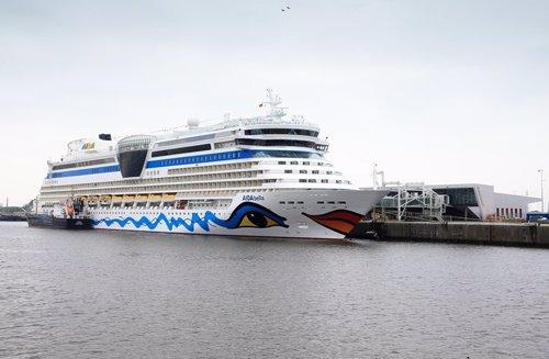Un buque de cruceros de Aida Cruises