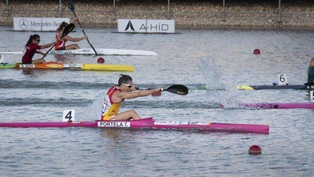 España debuta en el Mundial de Esprint y Paracanoe