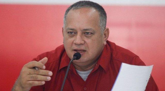 El vicepresidente del partido socialista de Venezuela, Diosdado Cabello