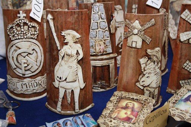 Castilla la mancha, Cerámica, Quijote, Sancho, Molino, Artesanía