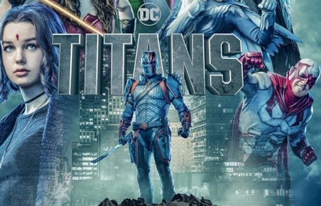 Póster de la 2 temporada de Titans, la serie de DC