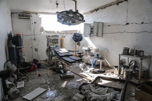 Siria.- El Ejército sirio abre un corredor para permitir la salida de la poblaci