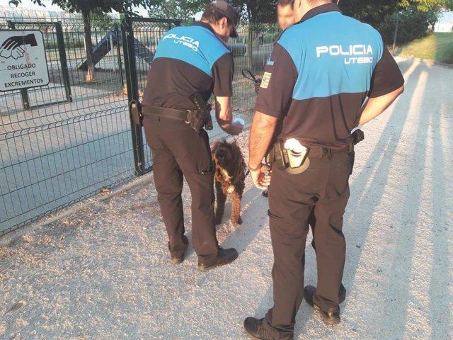 Policía Local realiza una campaña de control de perros
