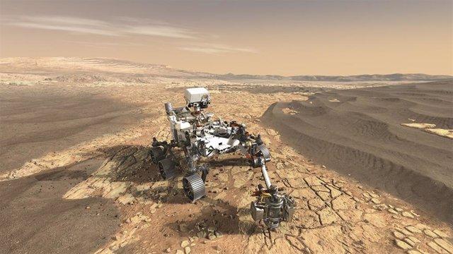 Geoquímica comparada avala un Marte cálido y húmedo en el pasado