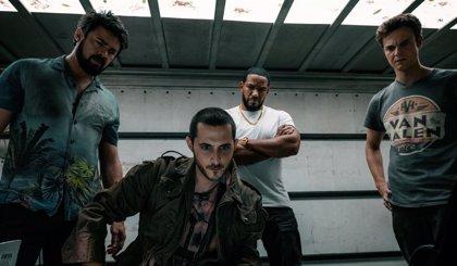 The Boys 2: Nueva imagen de Karl Urban, Jack Quaid y Tomer Capon en el rodaje de la 2ª temporada