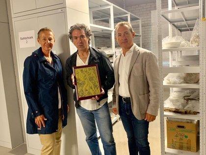 """El pintor valenciano Camaró logra que el memorial de Mauthausen reponga una de sus obras tras retirarla por """"indecente"""""""