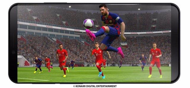 Konami lanzará eFootball PES 2020 en su versión para móviles en octubre