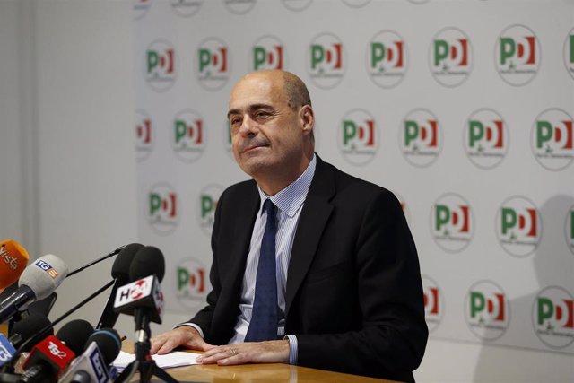 Nicola Zingaretti, líder del Partido Democrático