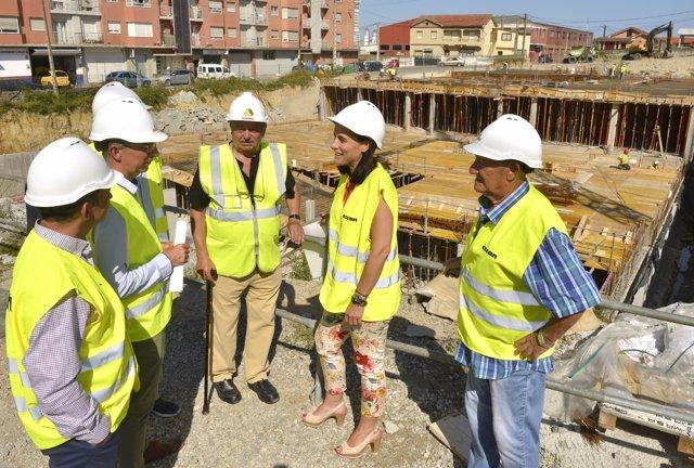 Obras de las 120 viviendas asequibles de San Román