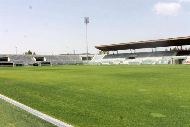 Obras en el estadio de la Fuensanta de Cuenca