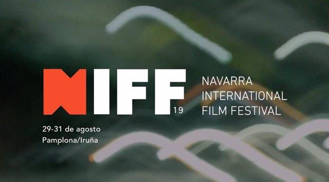Cartel del Festival Internacional de Cine de Navarra -NIFF-
