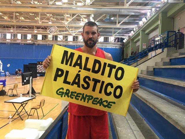 Marc Gaso, nuevo embajador de Greenpeace