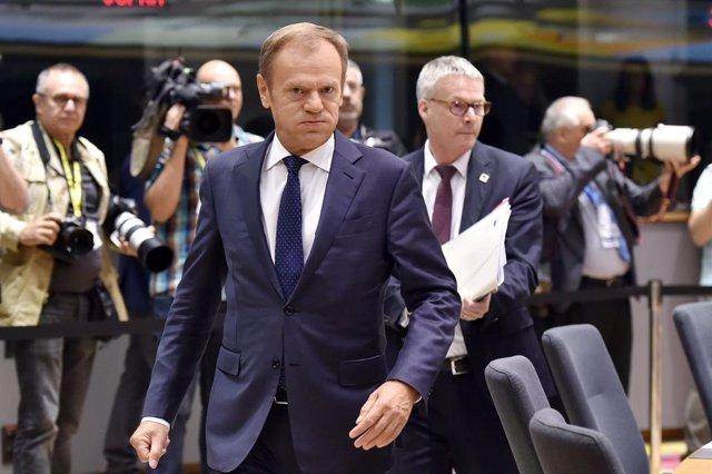 """Brexit.- Tusk acudirá en """"modo escucha"""" a la reunión con Johnson y esperará """"det"""