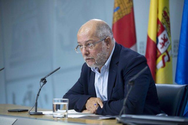 El portavoz de la Junta, Francisco Igea, explica los acuerdos del Consejo de Gobierno