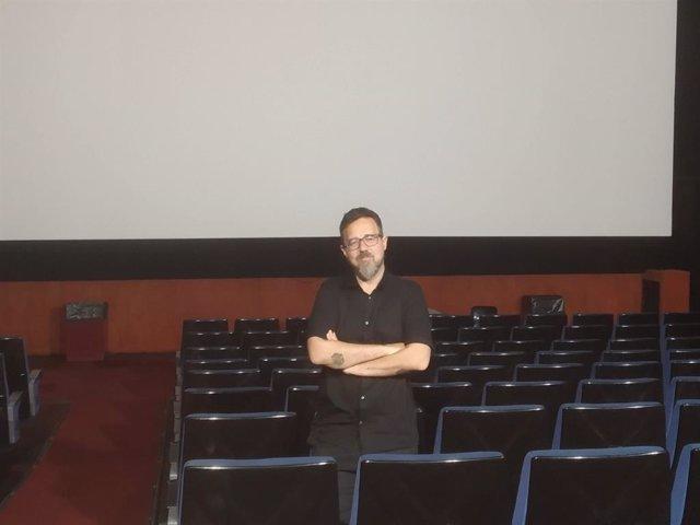 El cineasta valenciano Paco Plaza en Valencia
