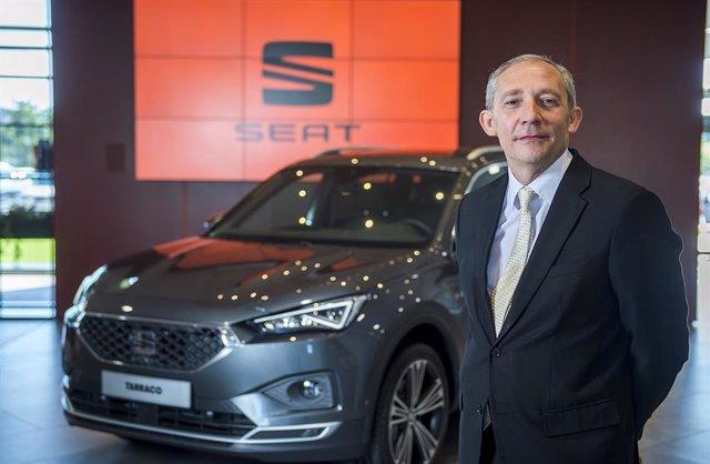 El nou vicepresident executiu de compres de SEAT, Alfonso Sancha