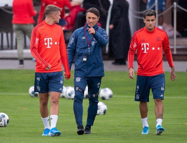 """Fútbol.- Niko Kovac: """"Coutinho no está todavía para salir de inicio o jugar los"""