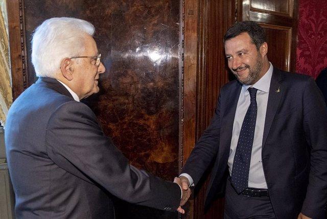 """Italia.- Salvini asegura que un gobierno del M5S y el PD representaría la """"vieja"""