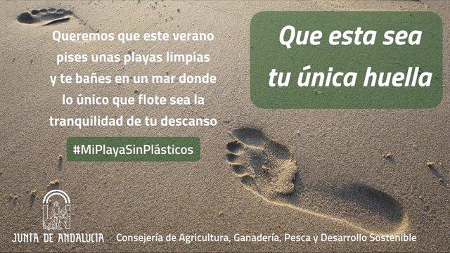 Nota De Prensa Consejería Agricultura, Ganadería, Pesca Y Desarrollo Sostenible (Campaña Playas Sin Plásticos)