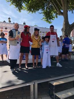 Entrega de premios del concurso de bacalao en la Aste Nagusia de Bilbao