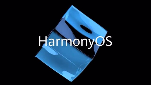 Logo del sistema operativo móvil Harmony OS de Huawei