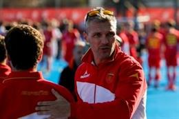 Fred Soyez, seleccionador español de hockey hierba