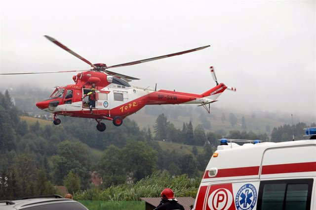 Servicios de emergencia en los montes Tatras