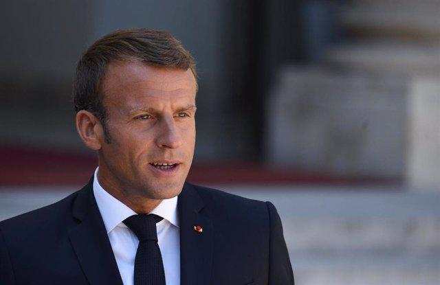 """Brasil.- Macron considera una """"crisis internacional"""" el fuego de la Amazonía y l"""