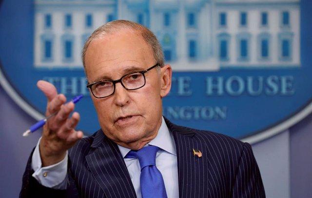 Asesor económico de la Casa Blanca, Larry Kudlow