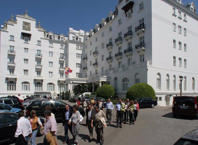 Hotel Real, En Santander