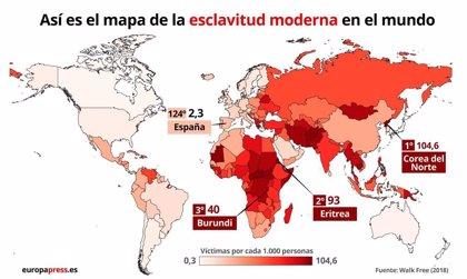 EpData.- La esclavitud en el mundo, en mapas y gráficos