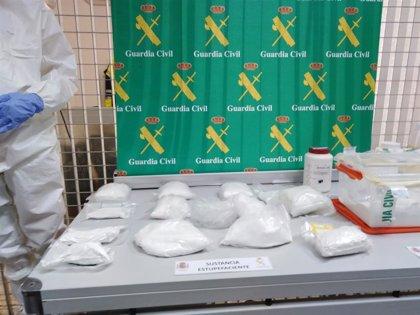 La Guardia Civil da por desarticulada una estructura internacional que abastecía de droga Baleares