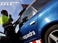 Un detingut per atropellar mortalment un motorista a l'A-2 a Jorba (Barcelona) (MOSSOS D'ESQUADRA)