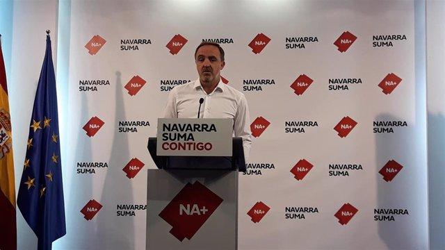 AMP.- Navarra Suma propone una nueva ley foral de Símbolos de Navarra y espera c