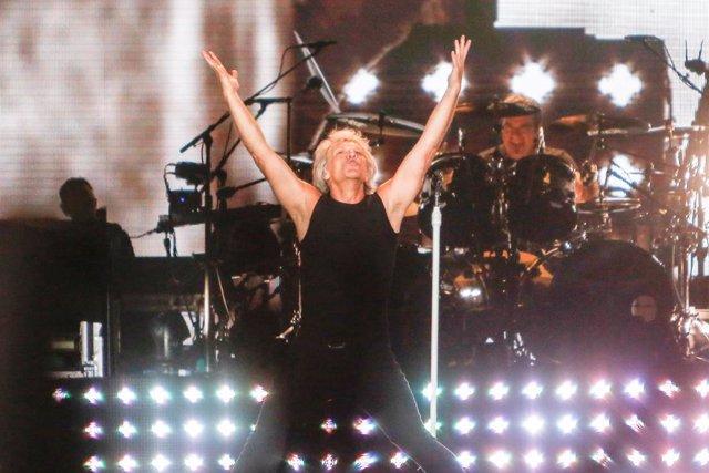 Concert de Bon Jovi en l'estadi Wanda Metropolit de Madrid