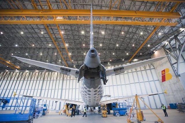 Hangar D'Iberia Al Prat