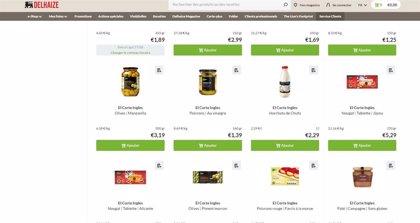 El Corte Inglés impulsa su internacionalización tras aliarse con Delhaize para vender sus alimentos en Bélgica