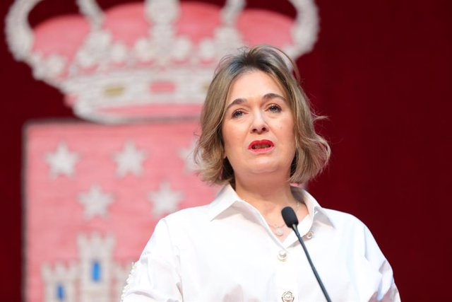 Imagen de archivo de la consejera de Cultura y Turismo de la Comunidad de Madrid, Marta Rivera.