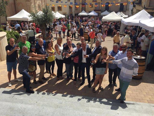 Zaragoza.- La feria 'Saborea Magallón' busca promocionar los vinos y aceites de