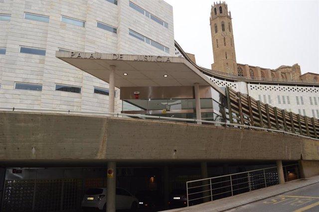 Els jutjats de Lleida, en una imatge d'arxiu.
