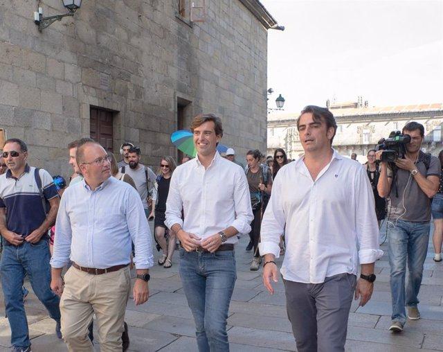 Pablo Montesinos en Santiago