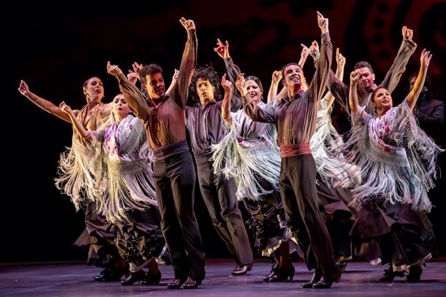 Escena del espectáculo 'Naturalmente flamenco'
