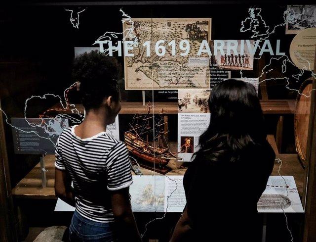 Conmemoración del cuarto centenario de la esclavitud en Norteamérica