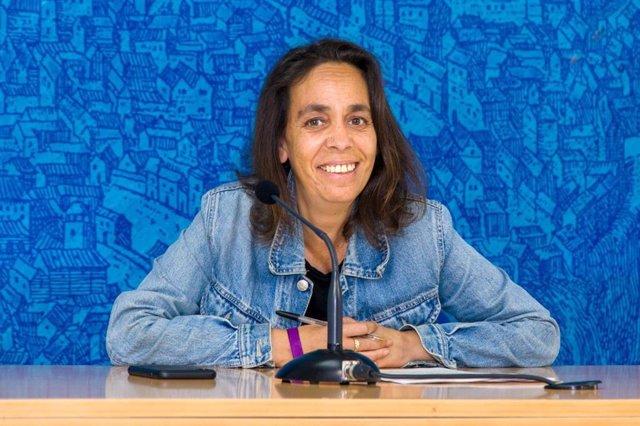 La concejal de Participación, Helena Galán