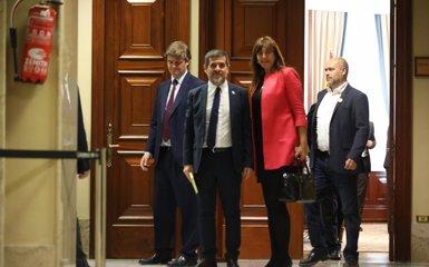 """Jordi Sànchez sobre JxCat: """"Menteixen els qui diuen que serà el centre dreta independentista"""" (Marta Fernández Jara - Europa Press - Archivo)"""