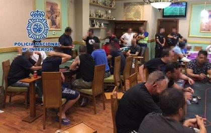 Desarticulado en San Sebastián de los Reyes un club clandestino que celebraba torneos ilegales de póker
