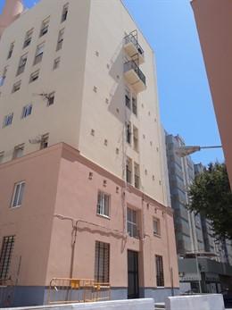 La Juna soluciona el abandono de las obras en la barriada de La Paz en Cádiz