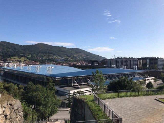 Estadio Carlos Tartiere, en Oviedo.