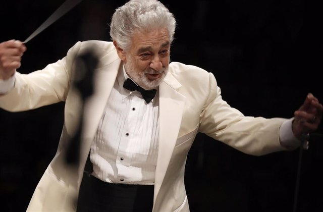 September 13, 2013  - Los Angeles, California, United States: Placido Domingo conducts music from Spain with the Los Angeles Philharmonic Orchestra at the Hollywood Bowl on Thursday night, Sept. 13, 2018. On August 13, 2019 it was reported that at least n